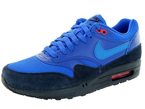 Nike Air Max 1 Fb Mens Scarpe Da Ginnastica 579920 Scarpe Da Ginnastica Scarpe Ossidiana / Lt Foto Blu-azzurro