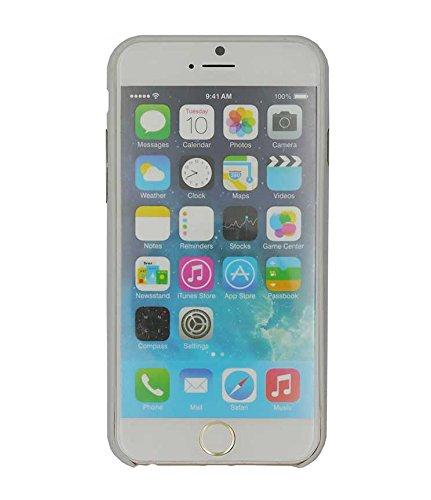 Uunique zweite Haut Hartschale/Schutzhülle für Apple iPhone 6, Silber