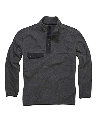- DRI Duck Men's 7352 Denali Fleece Long Sleeve Pullover (4X-Large, Charcoal)