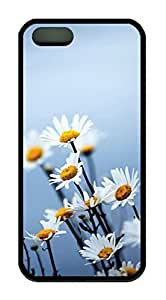 Daisy Flower Theme Iphone 5 5S Case TPU Material