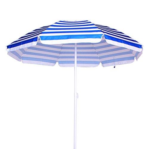 XXHDYR Roman Umbrella Sunscreen Beach Umbrella Umbrella (Color : Blue)
