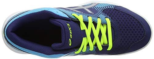 400 Blue Chaussures Silver Femme Rosa Asics MT Multicolore Volleyball Gel de Task Indigo wvnxH7fqA