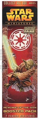 Star Wars CMG Miniatures Game Revenge of the Sith Booster Pack ()