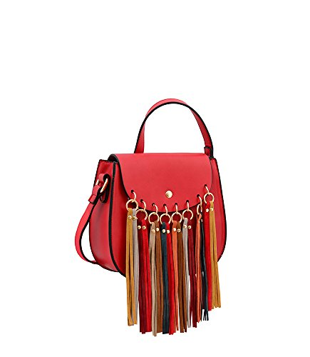 Bag World Size One Hb17253 Red Delilah Red Cross Mellow Body dF8XxqXw