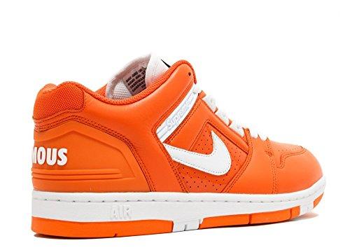 Nike Sb Af2 Laag Opperste Heren Trainers Aa0871 Schoenen Van De Oranje Gloed Wit 818