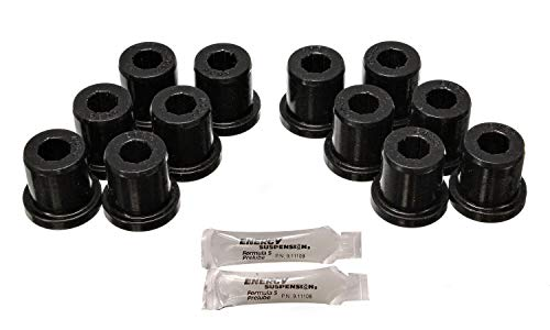 Energy Suspension 82106G Leaf Springs - Bushing - Front - Leaf Spring Set - Toyota 1981-89 FJ40 - FJ60 Landcruiser - Black ()