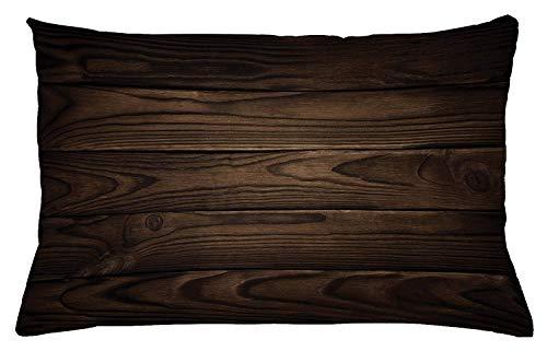 PocaBlife - Funda de almohada con diseño de flor de loto, estilo acuario, diseño de media lirio ayurveda con aspecto...