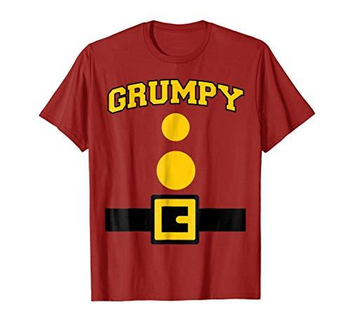 Grumpy Dwarf Halloween Costume T-shirt -
