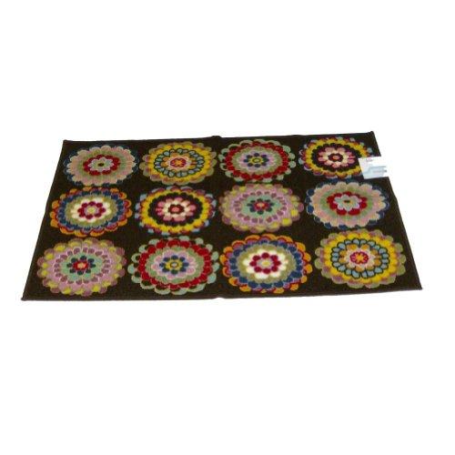 studio-a-kalidescope-throw-accent-rug-brown-kaleidoscope-flower-mat-26x45