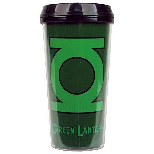 Green Lantern Logo - New 16 oz. DC Plastic Travel ()