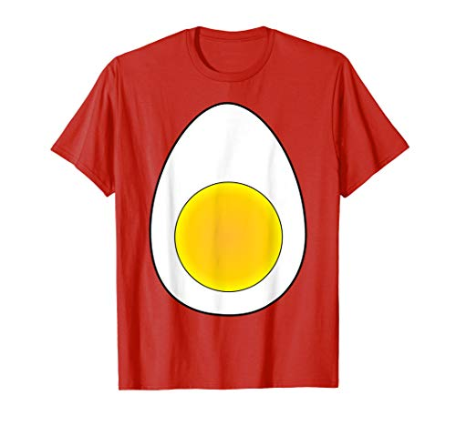 Deviled Egg Halloween Costume Shirt Wear Accessory Horn Tail]()