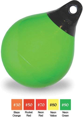 Taylor Made 47'' Net Buoy, Neon Green, 1 904715