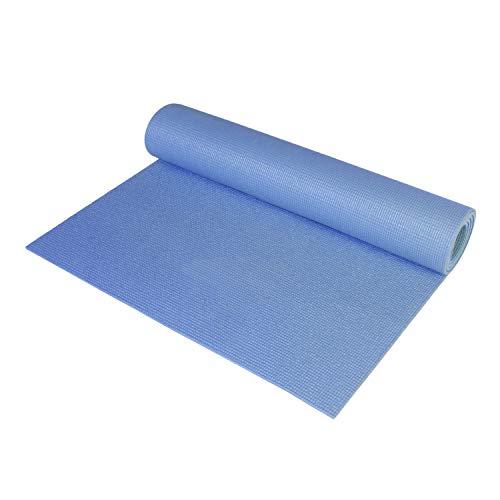CAP Barbell HHY-CF004B Fitness Yoga Mat, Blue