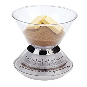 Kitchen Craft 3 kg Mechanical Scales with Weighing Bowl