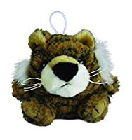 "Purr-Fection Timmy Cushy Critter Tiger 3"" Plush"