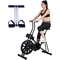 Healthex Exercise Cycle for Weight Loss at Home    Cycle 201 with Bonus Tummy Trimmer for Home Use