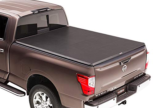 TruXedo TruXport Soft Roll-up Truck Bed Tonneau Cover | 292101 | fits 00-04 Nissan Frontier Crew Cab 4'6