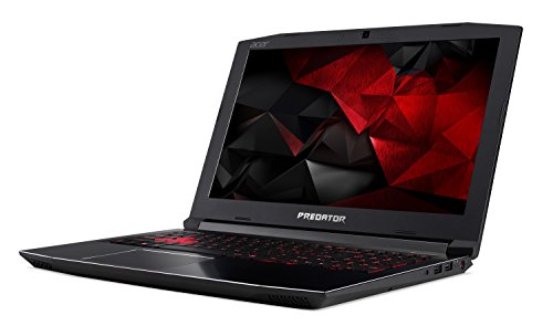 Acer Predator Helios 300 Gaming Laptop, 15.6'' Full HD, Intel Core i7-7700HQ CPU, 16GB DDR4 RAM, 256GB SSD, GeForce GTX 1060-6GB, VR Ready, Red Backlit KB, Metal Chassis, G3-571-77QK by Acer (Image #1)'