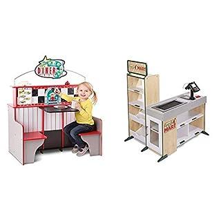 Melissa & Doug Star Diner Restaurant & Grocery Store