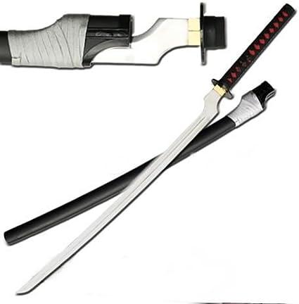 Amazon Com Saya Otonashi 45 1 2 Off Set Blade Blood Sword Katana Martial Arts Practice Swords Sports Outdoors Swords of Blood