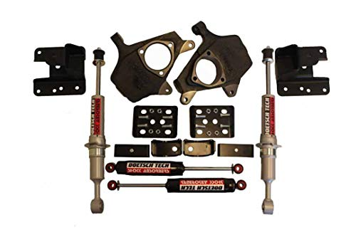 RTZ - Fits Chevrolet GMC Silverado Sierra 1500 Pickup Lowering Kit 3