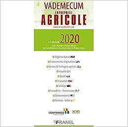 Amazon Fr Vademecum Entreprise Agricole Milliard Florent Deterre Jean Marie Dorleac Philippe Livres