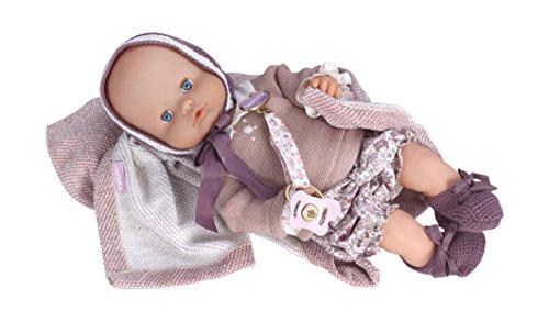 Nenuco Boutique bebé-vestido, color morado (Famosa 700013107)