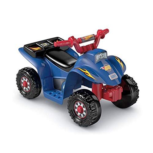 Power Wheels Hot Wheels Lil' Quad with Track