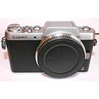 Panasonic Lumix DMC-GF7 Mirrorless Micro Four Thirds Digital Camera (Black Body Only) - International Version (No Warranty)