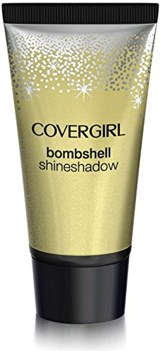 CoverGirl Bombshell Shine Shadow Eye Shadow, Gold Goddess 315 0.18 oz Pack of 4