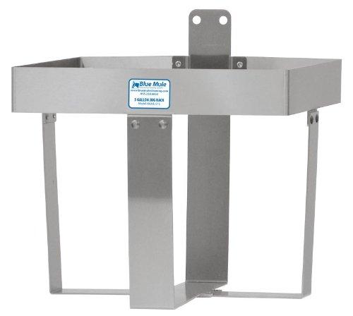 5 Gallon, Stainless Steel Jug Rack