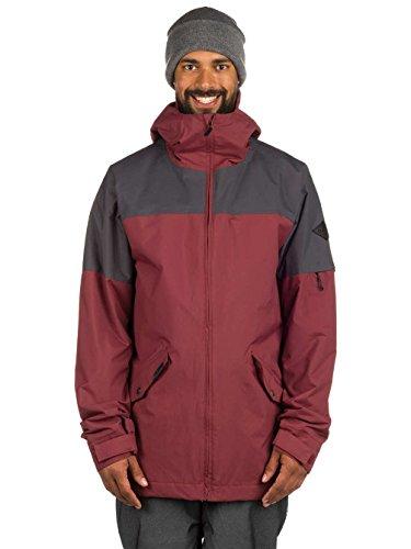 Dakine Men's Denison 2L Jacket, Andorra, Shadow, L (Jacket Denison)