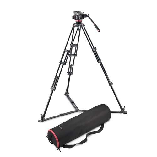 Manfrotto ビデオキット ツインGSタイプ MVH502A-546GB-1