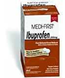 Medique Products 80813 Medi- First Ibuprofen Tablets, 500 Tablets, 250 packets of 2