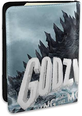 Godzilla King Of Monsters Movie ゴジラ モンスター ロゴ パスポートケース メンズ 男女兼用 パスポートカバー パスポート用カバー パスポートバッグ ポーチ 6.5インチ高級PUレザー 三つのカードケース 家族 国内海外旅行用品 多機能