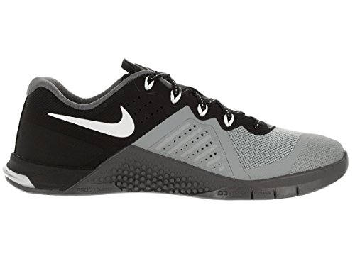 Metcon black Sneakers Femme Grey Gris dark White 2 Nike Wmns stealth 5x6Hf8
