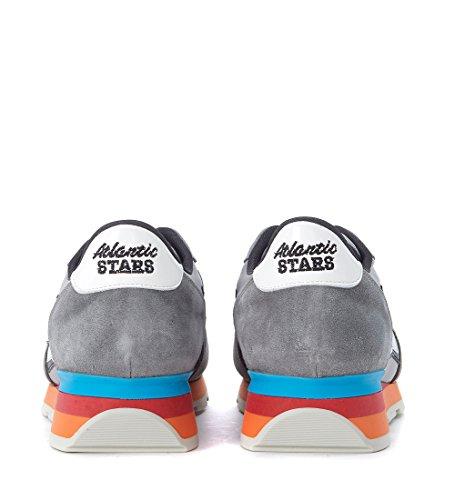 In Antares E Sneaker Atlantic Stars Multicolor Suede Tessuto Grigia q4CtZ