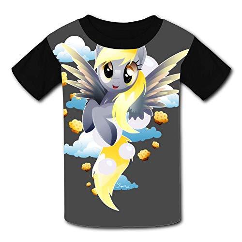 APICELLAjiow Little Muffins My Pony Children T-Shirts Crew Neck Short Sleeve Raglan Costume Tee Shirt for -
