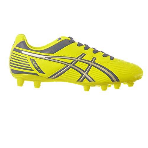 Asics - Botas de fútbol para hombre gialloazzurro