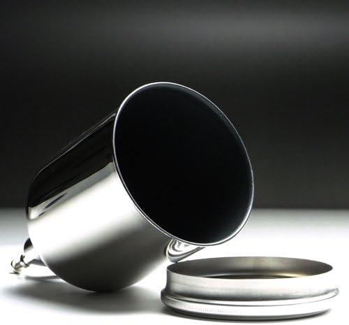 明治4G-TA 0.45L 内面テフロンコート塗料カップ