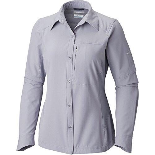 Columbia Silver Ridge Long Sleeve Shirt, Large, Astral
