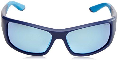Azul S 7013 Pz de 5X Speckled Azure Gafas ZX9 Polaroid Grey Blue PLD Bluette 63 para Grey Sol Hombre HfRv4