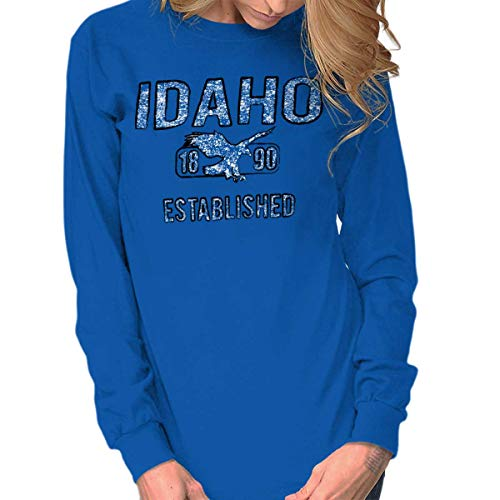 Idaho Vintage Student Workout ID Americana Long Sleeve Tee