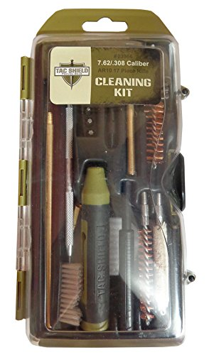 Tac Shield AR10 7.62/.308 Caliber Rifle Cleaning Kit (17-Piece)