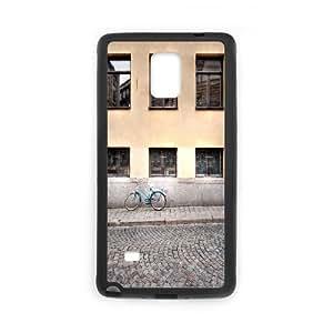 Samsung Galaxy Note 4 Case, street pavement Case for Samsung Galaxy Note 4 Black