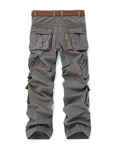 Long grün Printemps Pants Pour En Cargo Hommes Loisir Automne Casual Camouflage Haidean Air Poches Avec Armee Plein Détendu Jogging Moderne Aw165