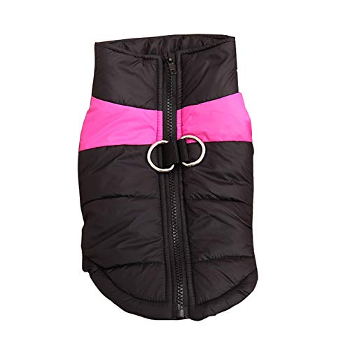 Dora Bridal Dog Coat Vest Windproof Warm Dog Clothes for Cold Weather Outdoor Extra Protection Zip up Down Jacket for Small Medium and Extra Large Dogs
