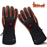 GLOBAL VASION Battery Heated Gloves,Heated Gloves,Rechargeable Heated Gloves,Electric Gloves,Heated Gloves for Men,Heated Gloves