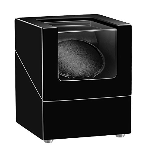 SEPANO Single Automatic Watch Winder for Rolex, Extremely Silent Mabuchi Motor and 5 Rotation Modes,Adjustable Watch Pillow for Men's and Lady's Automatic Watches
