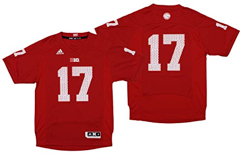 adidas Nebraska Cornhuskers NCAA Red 2017 Official Special Event Jersey for Men (M)